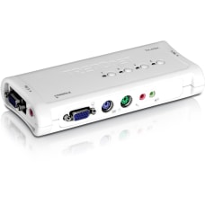 TRENDnet 4 Port PS2 KVM Switch