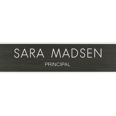Custom Engraved Plastic Wall Signs With