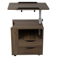 Mind Reader 24 W Adjustable Bedside