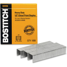 Stanley Bostitch Heavy Duty Premium Staples