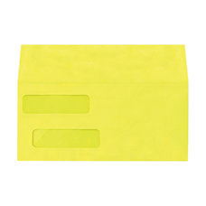 LUX Double Window Invoice Envelopes With