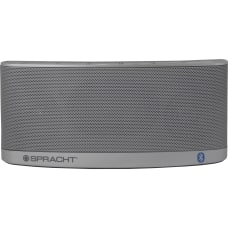 Spracht Blunote20 Portable Bluetooth Speaker Silver