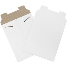 Office Depot Brand White Flat Mailers