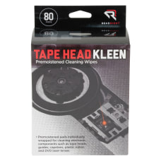 Advantus Tape Head Cleaning Pads 5