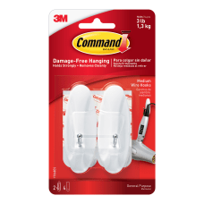 3M Command General Purpose Wire Hooks