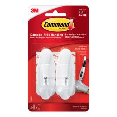 Command Medium Wire Hooks Damage Free