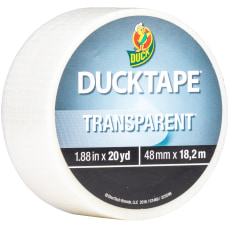 Duck Transparent Duct Tape 20 yd