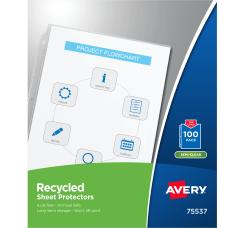 Avery Economy Weight Sheet Protectors Box