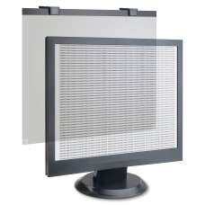 Business Source LCD PrivacyAntiglare Filter Black