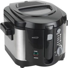 Brentwood 20 L Deep Fryer BlackStainless