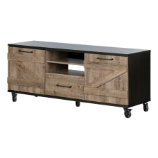 South Shore Valet Industrial TV Stand