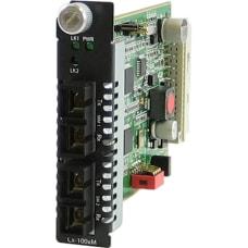 Perle C 100MM S2SC120 Media Converter