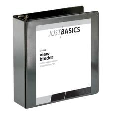 Just Basics View 3 Ring Binder