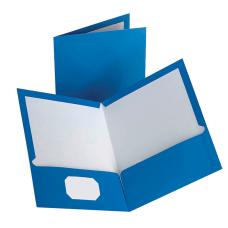 Oxford Laminated Twin Pocket Portfolios 8