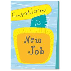 Viabella New Job Greeting Card 5