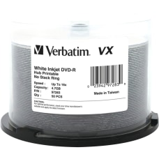 Verbatim DVD R 47GB 16X VX
