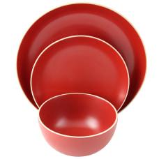 Gibson Home Rockaway 12 Piece Dinnerware