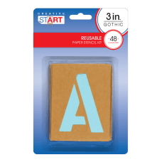 Creative Start Stencil Kit Reusable Paper