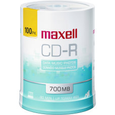Maxell CD R Media Spindle 700MB