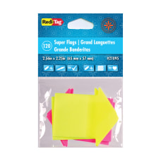 Redi Tag Super size Neon Arrow