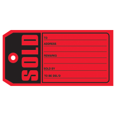 Office Depot Brand Sold Tags 5
