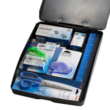 Officemate Clipboard Office Supplies Kit 10