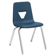 Lorell Classroom Student Stack Chairs 18