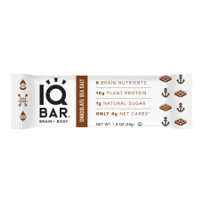 IQ BAR Brain Fuel Protein Bars