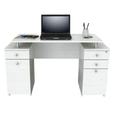 Inval Laura Standard Computer Desk Washed