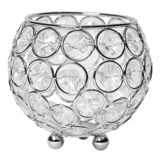 Elegant Designs Elipse Crystal Bowl 3
