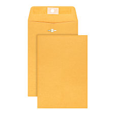 Office Depot Brand Clasp Envelopes 6