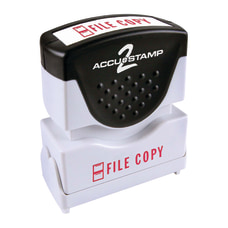 ACCU STAMP2 File Copy Stamp Shutter