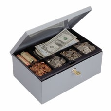STEELMASTER Cash Box with Security Lock
