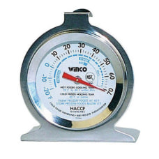 Winco RefrigeratorFreezer Thermometer
