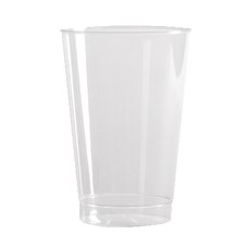 Comet 10 Oz Tall Tumblers Clear