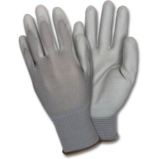 Safety Zone Gray Coated Knit Gloves