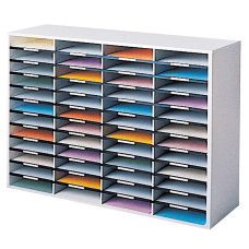 Fellowes Literature Organizer 48 Compartments 34
