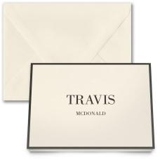 Custom Premium Stationery Folded Note Cards