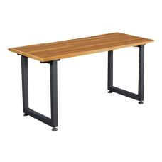 Vari Table Desk 60x24 Butcher Block