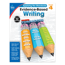 Carson Dellosa Evidence Based Writing Workbook