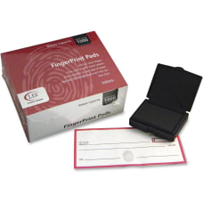 LEE Inkless FingerPrint Pad 12 Dozen