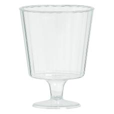 Amscan Premium Plastic Wine Glasses 5