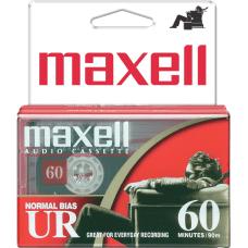 Maxell UR60 Cassette Tape 2 Pack
