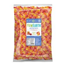 Yummy Earth Gummy Bears 5 Lb