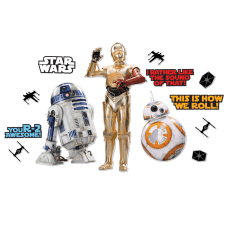 Eureka Star Wars Droids Bulletin Board