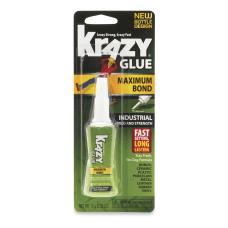 Krazy Glue Maximum Bond Industrial Speed
