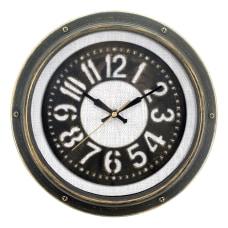 Realspace Round Wall Clock 12 Gray