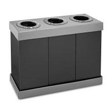 Alpine 3 Compartment Indoor Trash Bin
