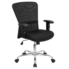 Flash Furniture Contemporary Mesh Mid Back