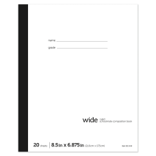 Office Depot Brand Schoolmate Composition Book
